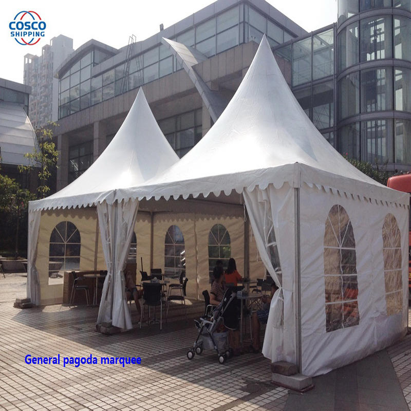 Pagoda marquee, stylish and graceful