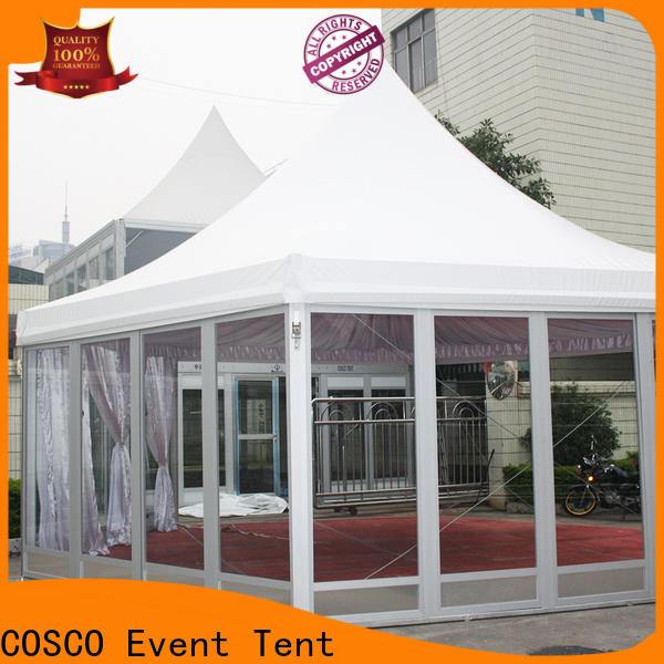 COSCO exhibition pop up gazebo long-term-use for engineering