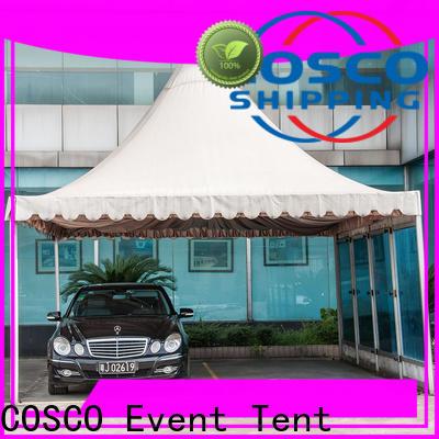 COSCO exhibition portable gazebo certifications Sandy land