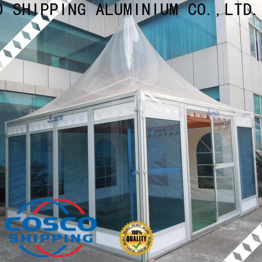 COSCO garden gazebos widely-use for disaster Relief