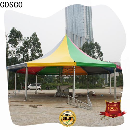 COSCO curved outdoor gazebo supply anti-mosquito