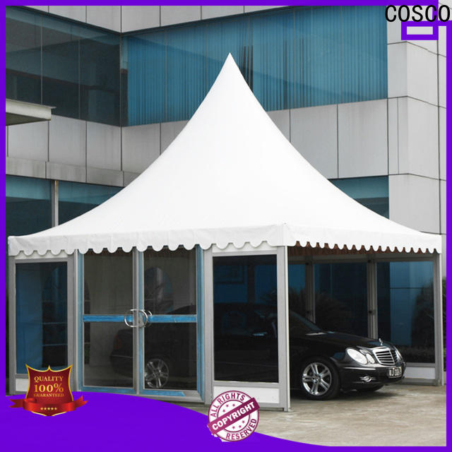 aluminum party gazebo event certifications for disaster Relief