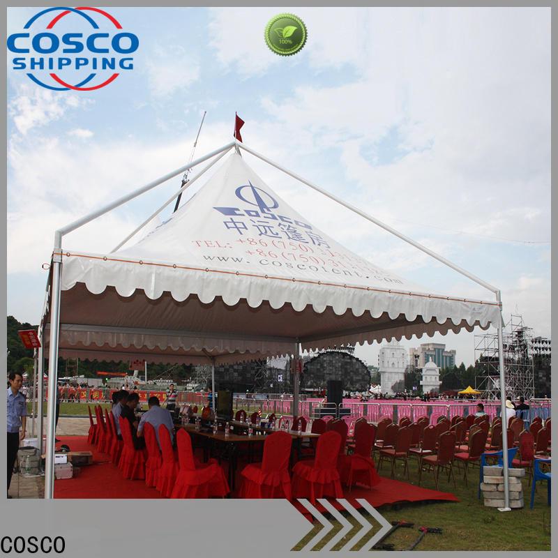 COSCO party cheap gazebo vendor cold-proof