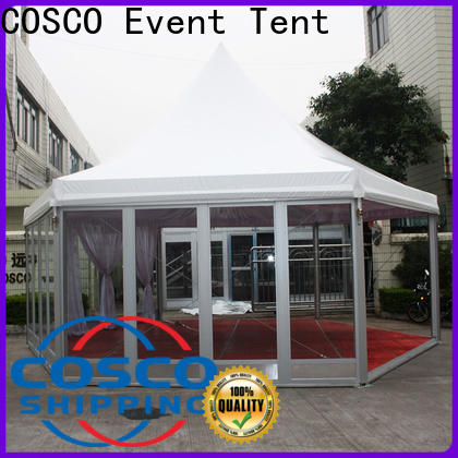 COSCO exhibition gazebo for sale  supply for engineering