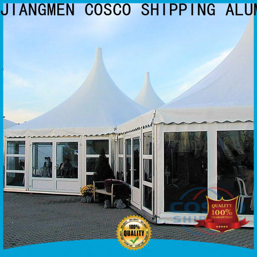 dome gazebo aluminium supplier cold-proof
