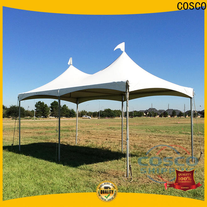 COSCO exhibition gazebo tent for engineering