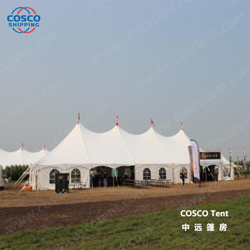 COSCO peg wedding tents for sale effectively rain-proof