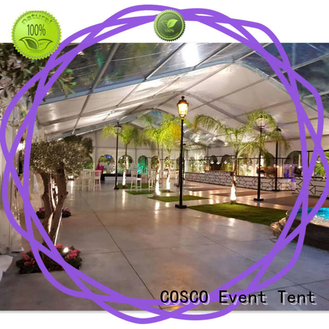 COSCO outstanding aluminium tent for party