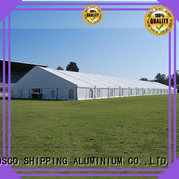 COSCO 5x12m structure tents supplier