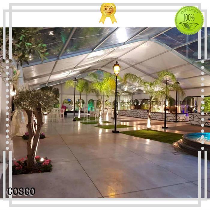 COSCO 25x60m aluminium tent manufacturer