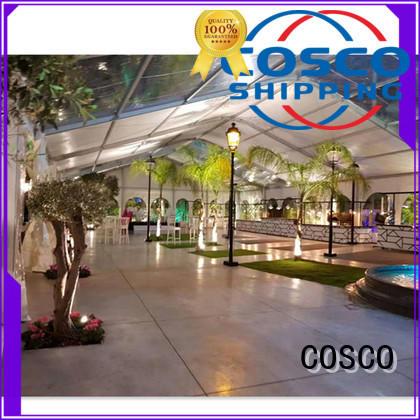 COSCO 25x60m pvc tent manufacturer grassland