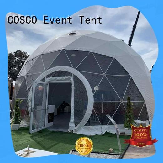 COSCO frame dome tent supplier dustproof