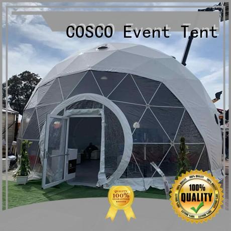 diamrter peak pagoda tent clear dome tent COSCO