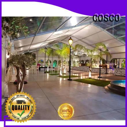 COSCO aluminum event tent elegant rain-proof