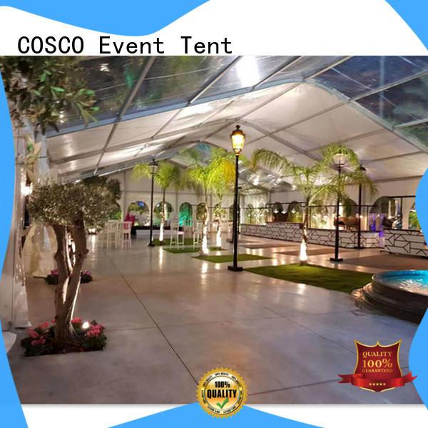 COSCO wedding pvc tent owner