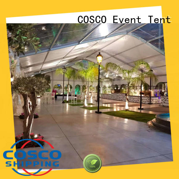 outstanding aluminium tent modular in different shape for party