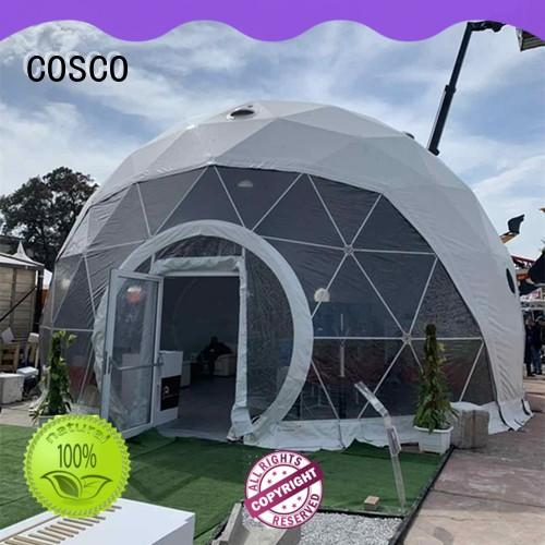 COSCO polygon dome tent 中远