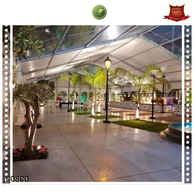wedding pvc canopy tent in different shape for party COSCO