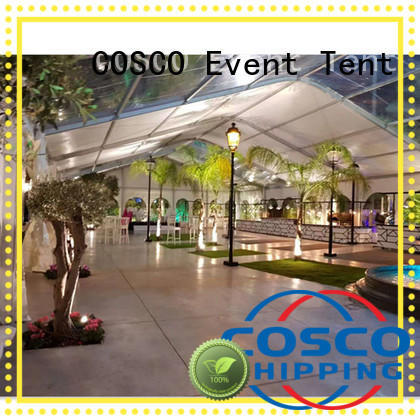 COSCO style wedding party tent supplier factory