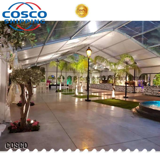 COSCO highest aluminium tent supplier anti-mosquito