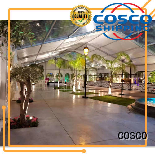 wedding pvc tent in different shape pest control COSCO
