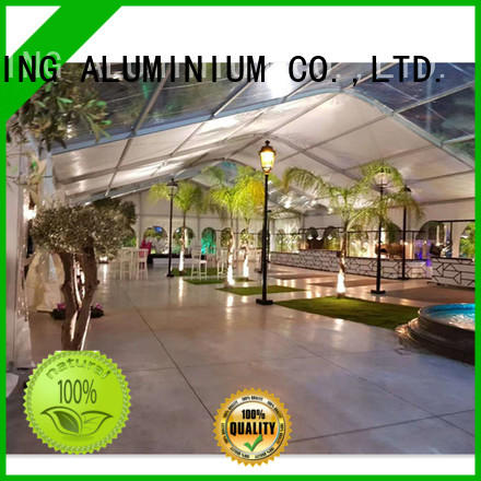 COSCO Brand transparent exhibition canopy tent wedding supplier