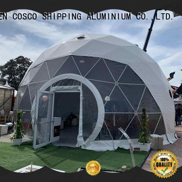 COSCO structure dome tents for sale certifications pest control
